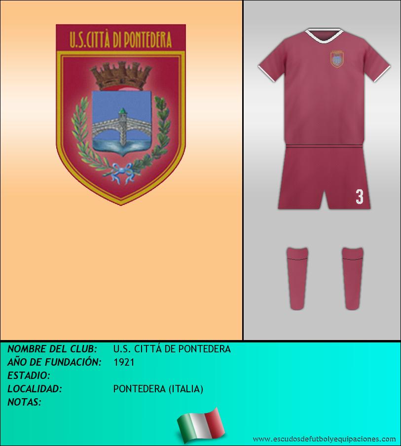 Escudo de U.S. CITTÁ DE PONTEDERA