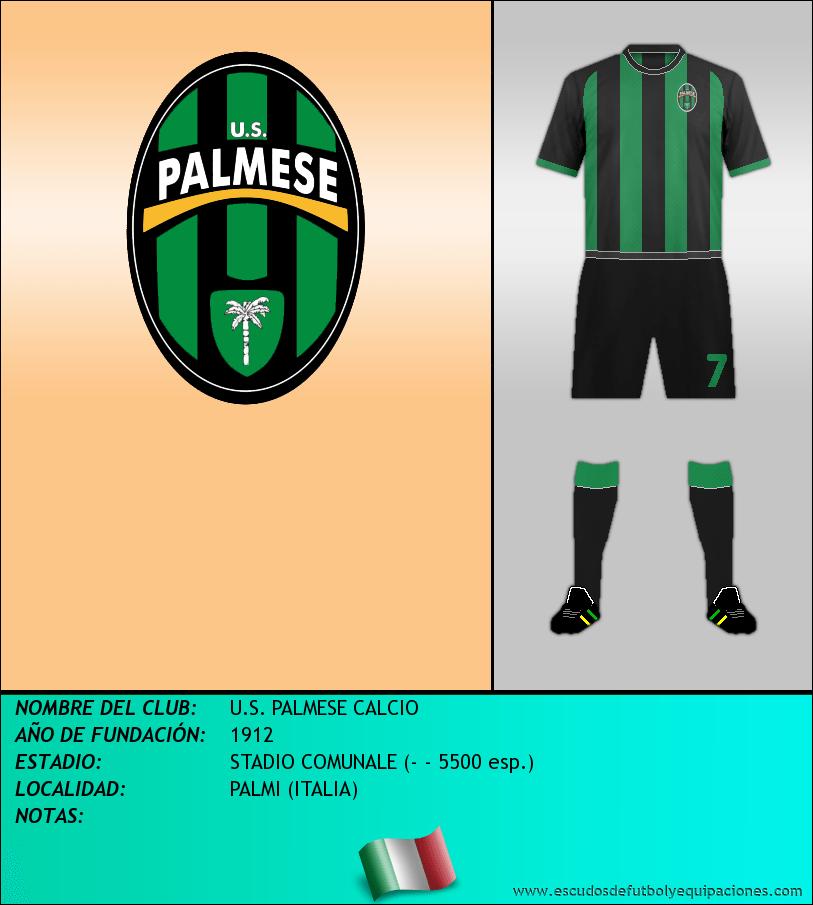 Escudo de U.S. PALMESE CALCIO
