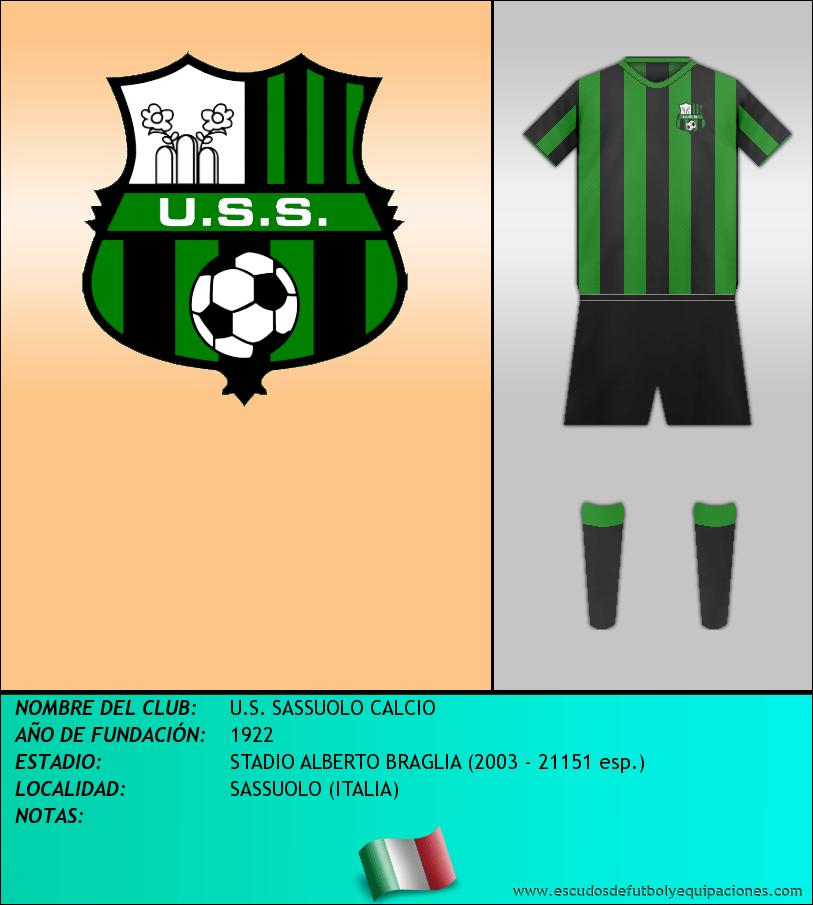 Escudo de U.S. SASSUOLO CALCIO