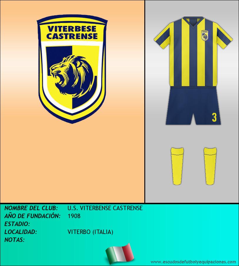Escudo de U.S. VITERBENSE CASTRENSE