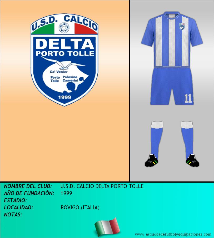 Escudo de U.S.D. CALCIO DELTA PORTO TOLLE