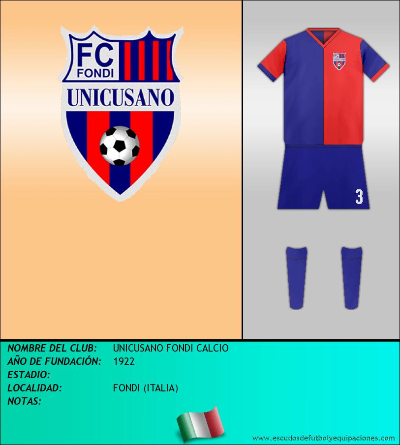 Escudo de UNICUSANO FONDI CALCIO