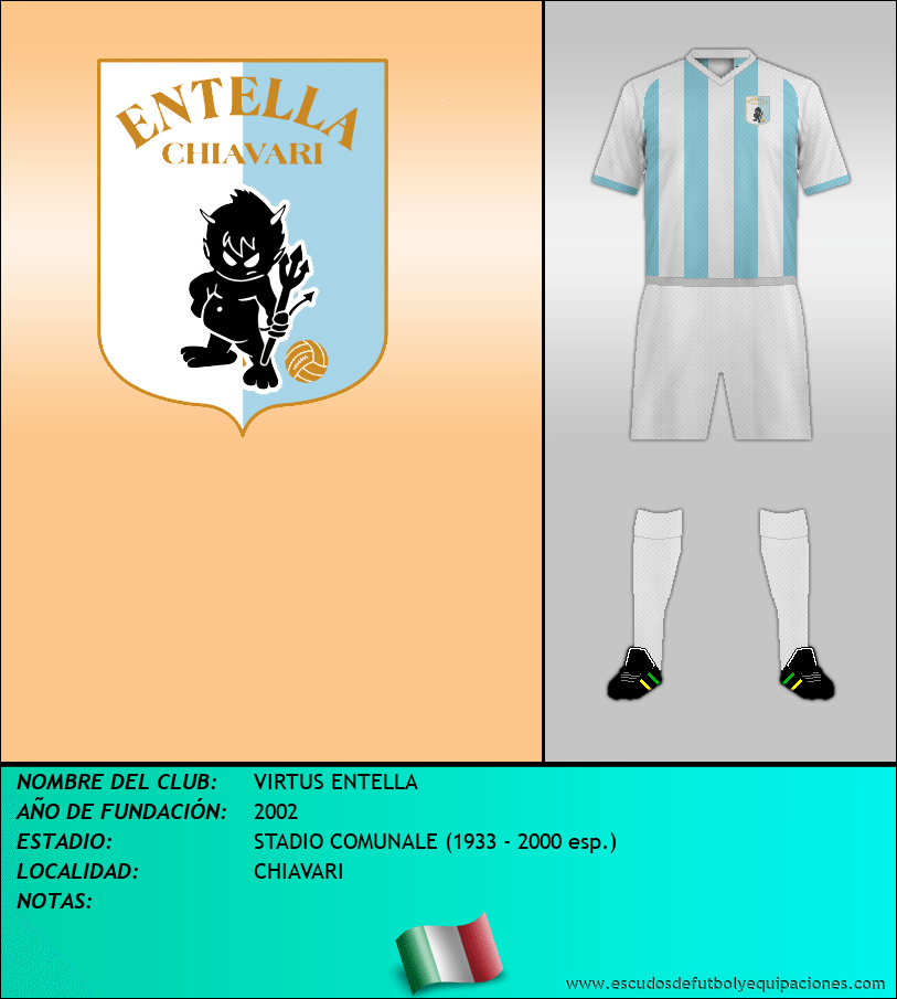 Escudo de VIRTUS ENTELLA