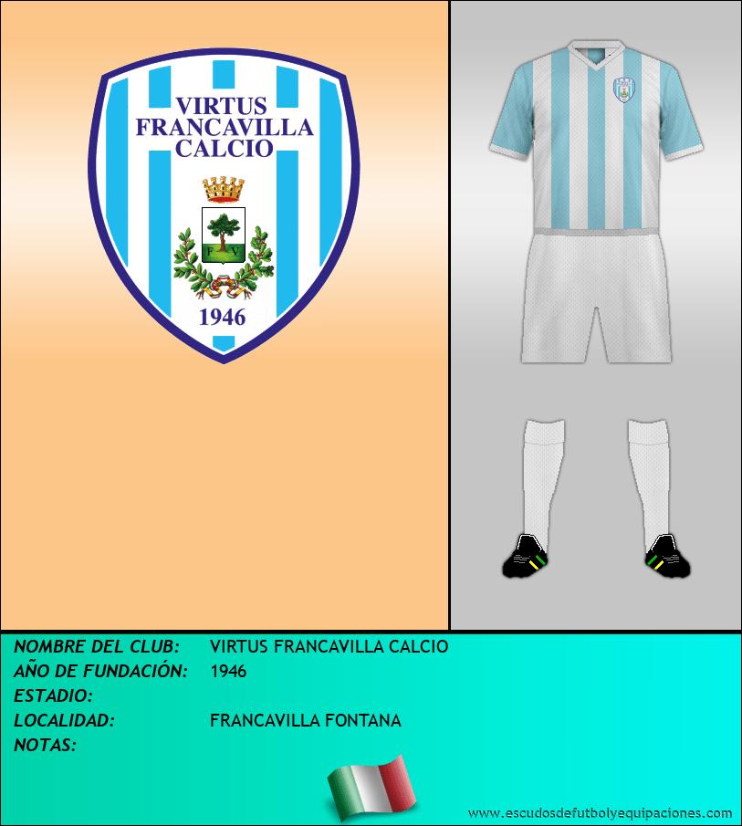 Escudo de VIRTUS FRANCAVILLA CALCIO