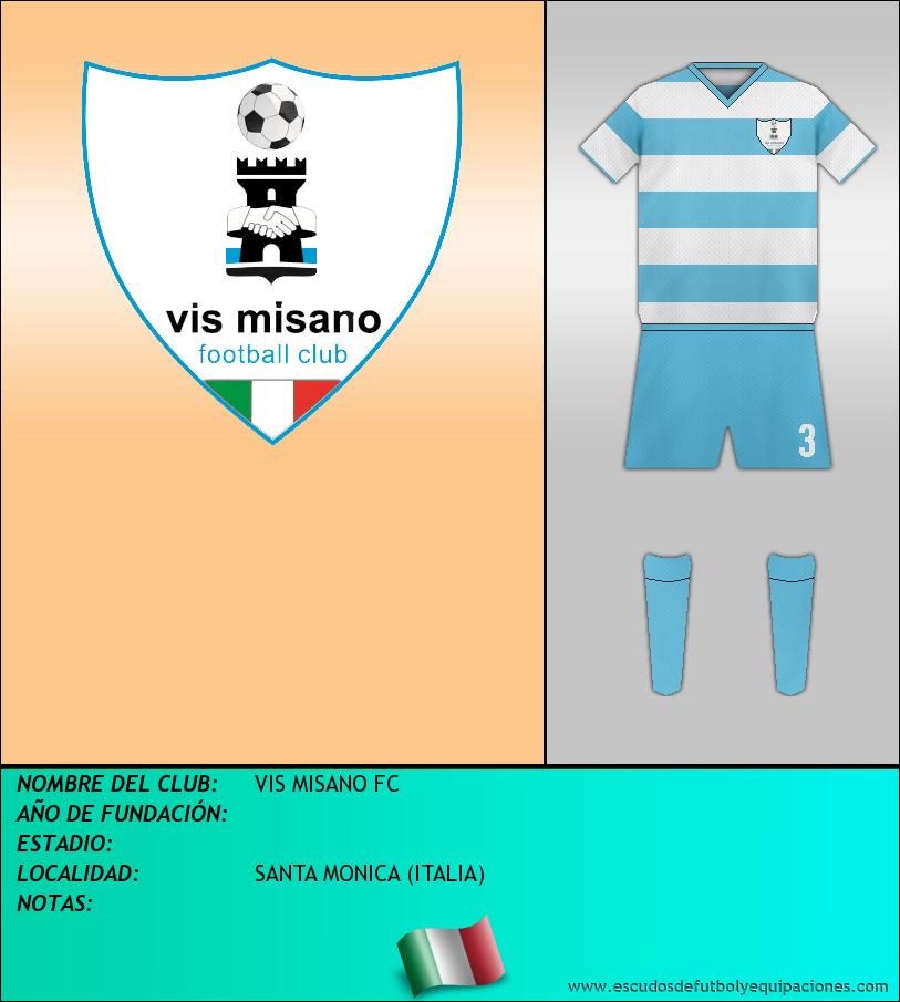 Escudo de VIS MISANO FC