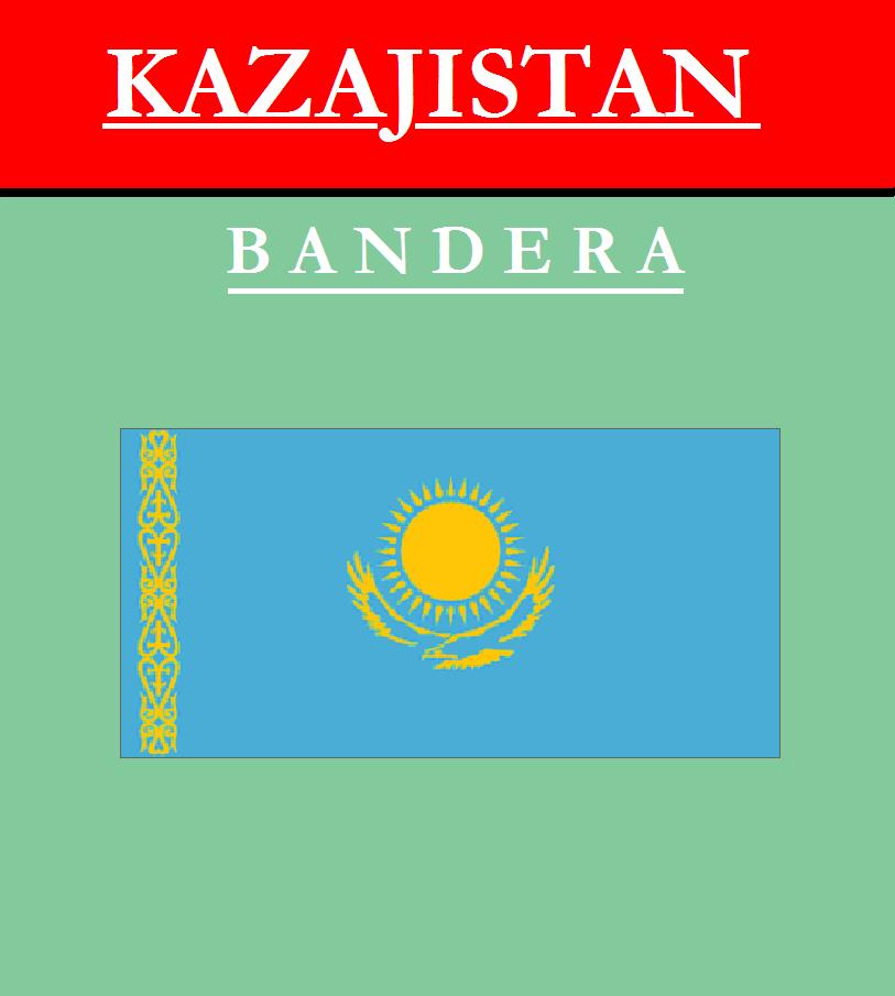 Escudo de BANDERA DE KAZAJISTÁN