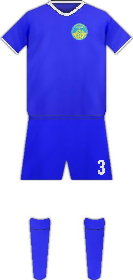 Equipación FC ALTAI