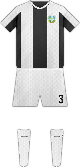 Equipación FC ORDABASY