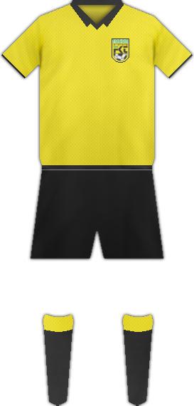 Equipación FC TOBOL