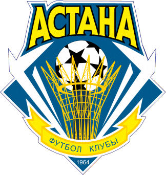 Escudo de FK ASTANA 1964 (KAZAJISTÁN)