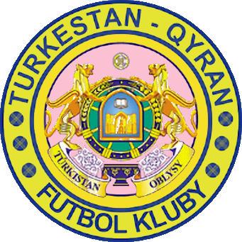 Escudo de FK TURKESTAN QYRAN (KAZAJISTÁN)
