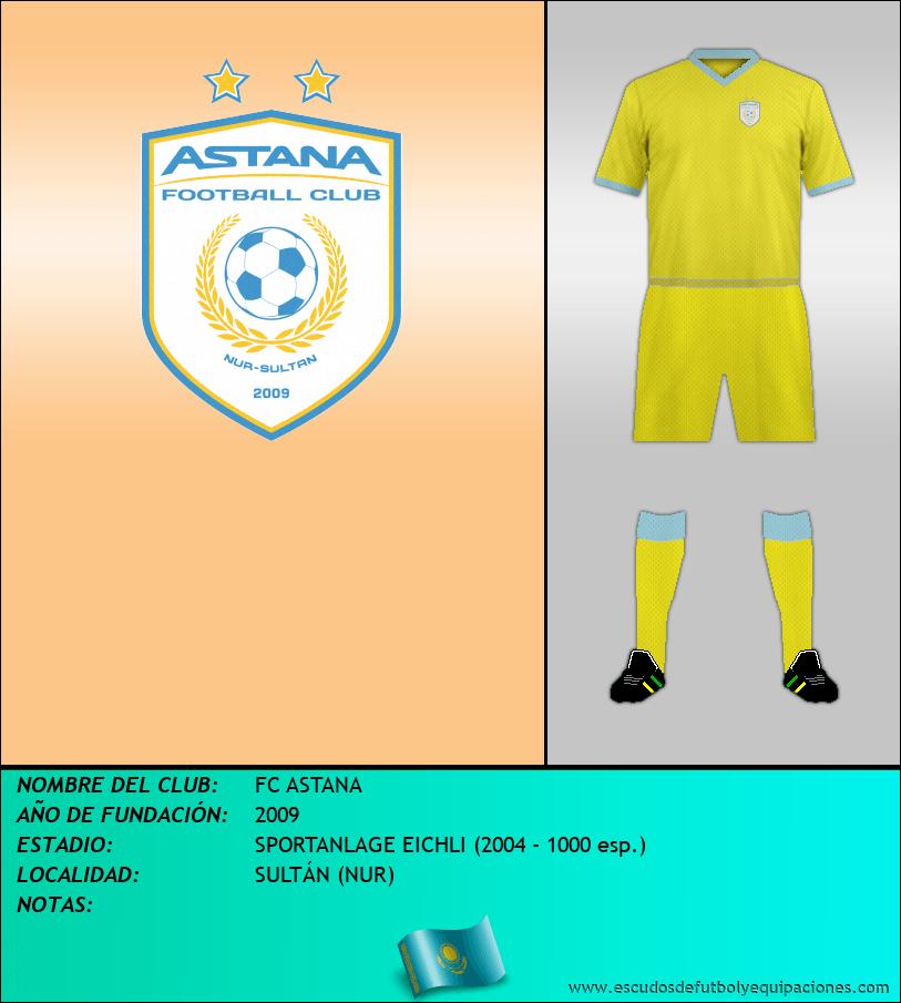 Escudo de FC ASTANA