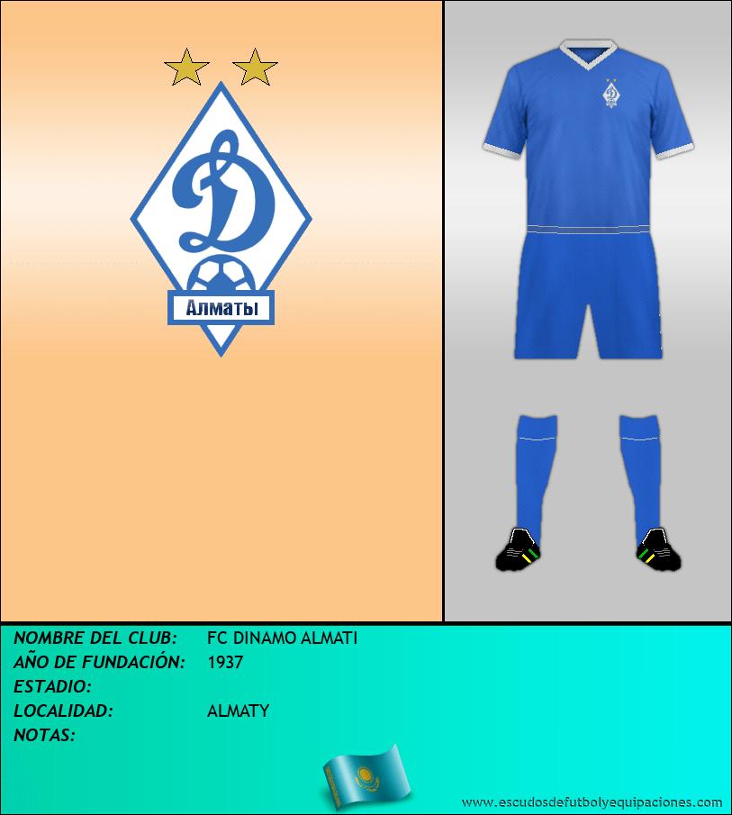 Escudo de FC DINAMO ALMATI