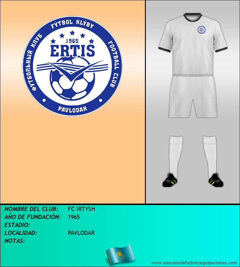 Escudo de FC IRTYSH
