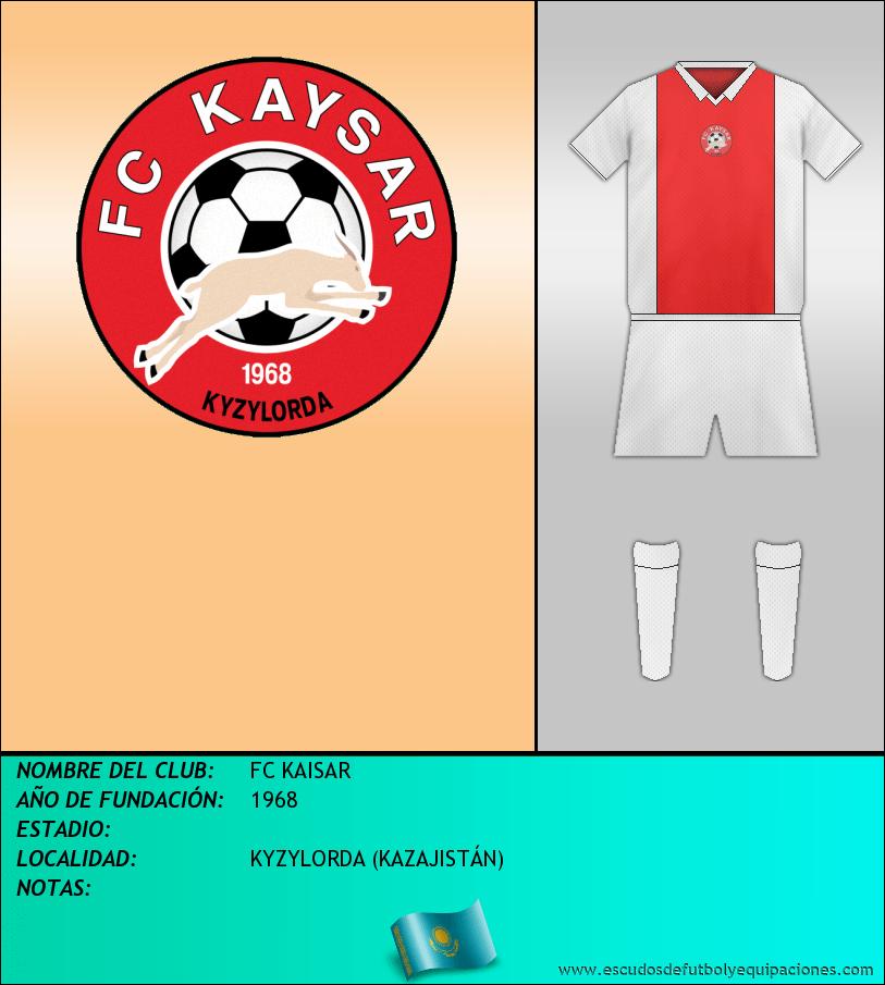 Escudo de FC KAISAR
