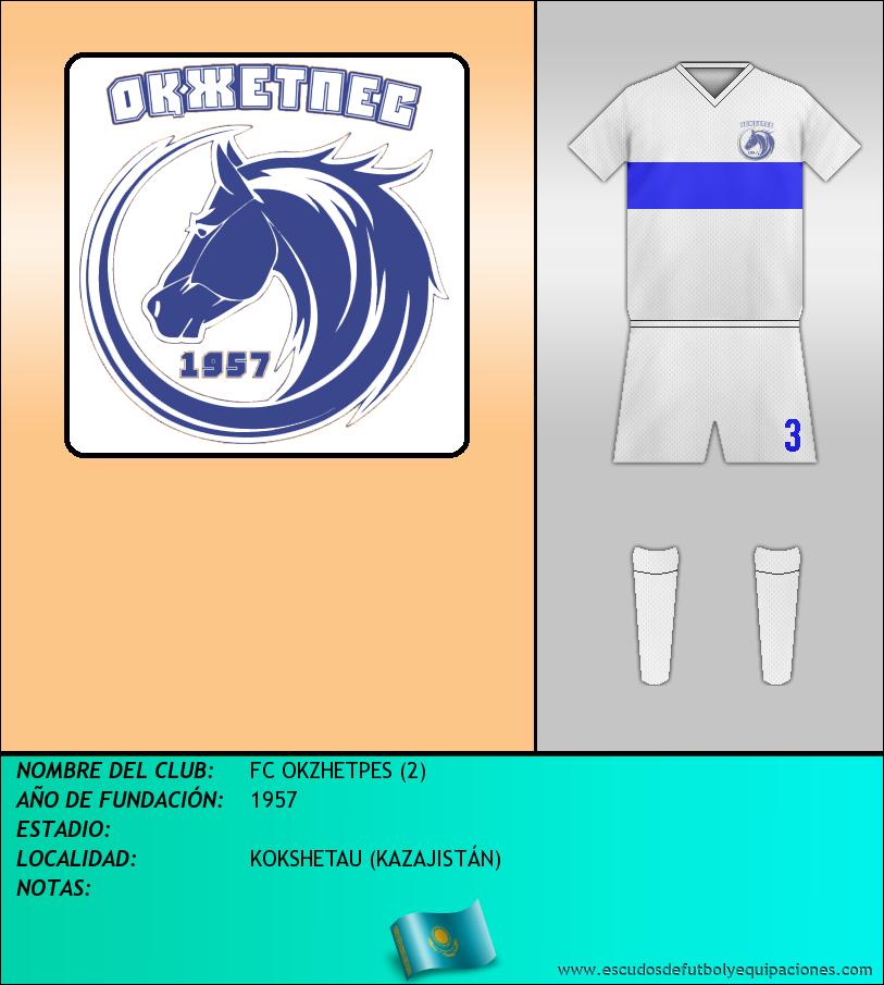 Escudo de FC OKZHETPES (2)
