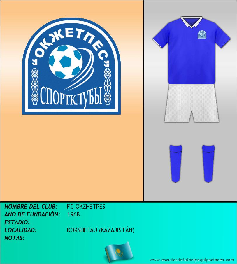 Escudo de FC OKZHETPES