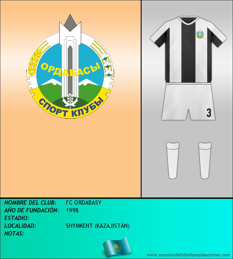 Escudo de FC ORDABASY