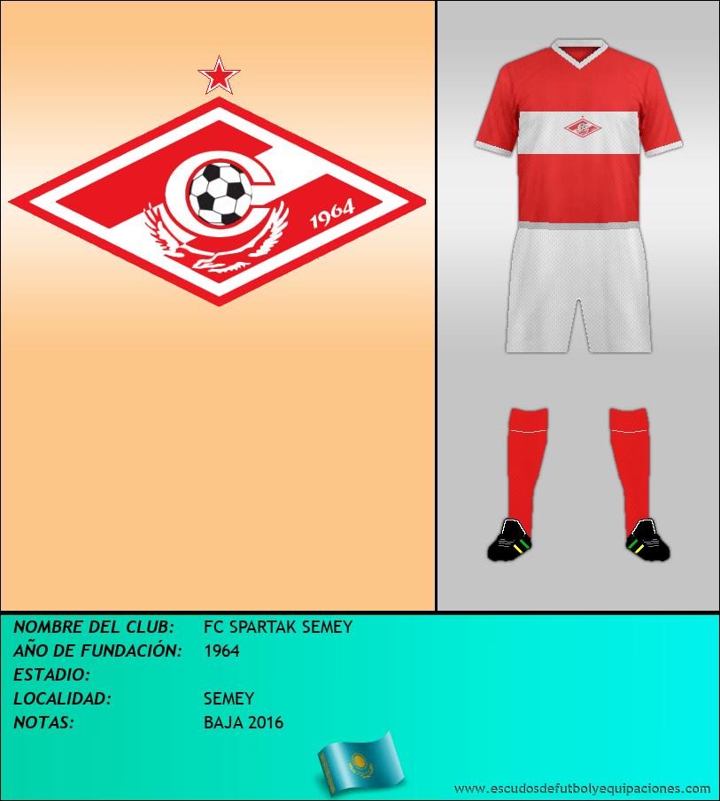 Escudo de FC SPARTAK SEMEY
