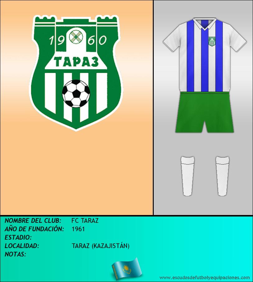 Escudo de FC TARAZ