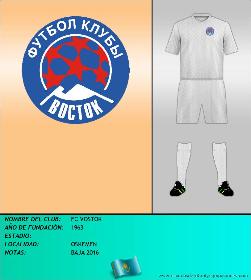 Escudo de FC VOSTOK