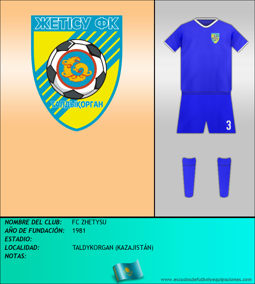 Escudo de FC ZHETYSU
