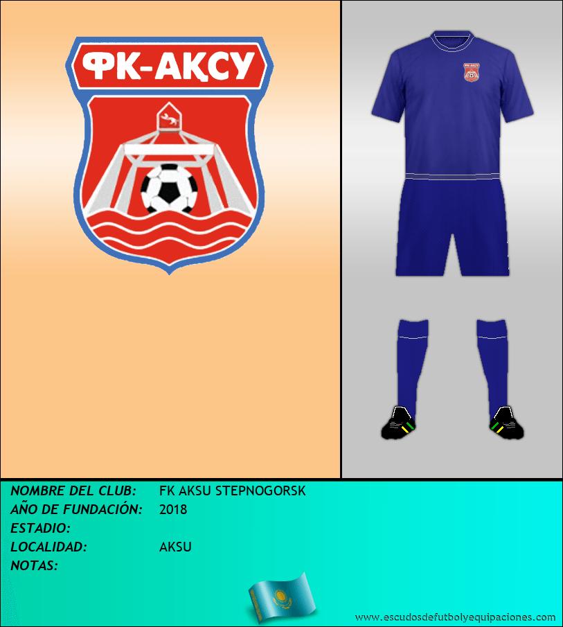 Escudo de FK AKSU STEPNOGORSK