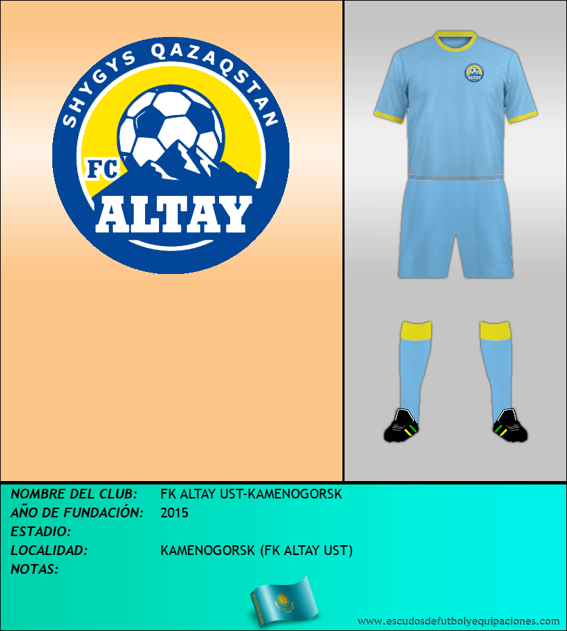 Escudo de FK ALTAY UST-KAMENOGORSK
