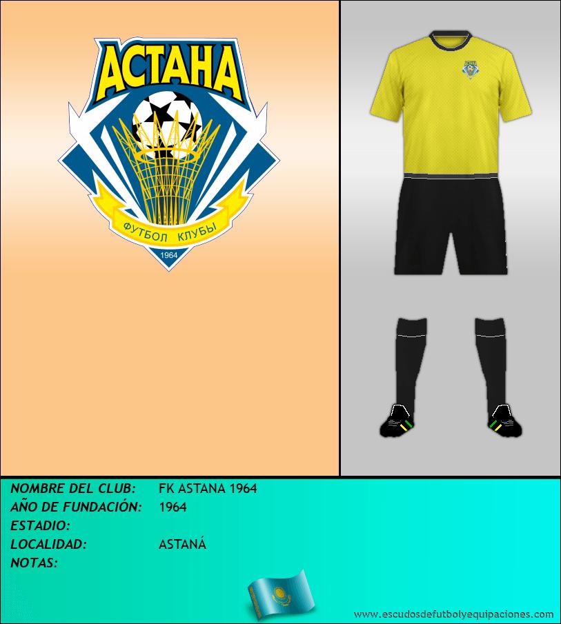 Escudo de FK ASTANA 1964