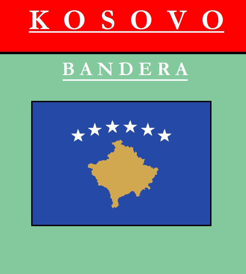 Escudo de BANDERA DE KOSOVO