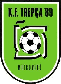 Escudo de KF TREPÇA'89 (KOSOVO)