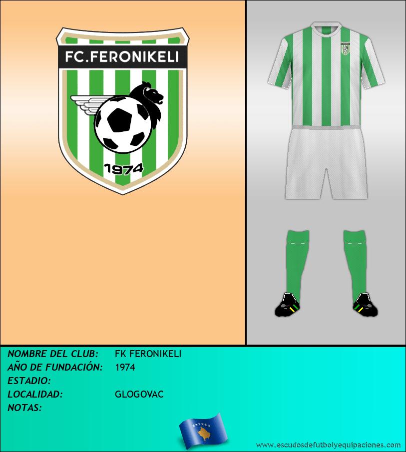 Escudo de FK FERONIKELI