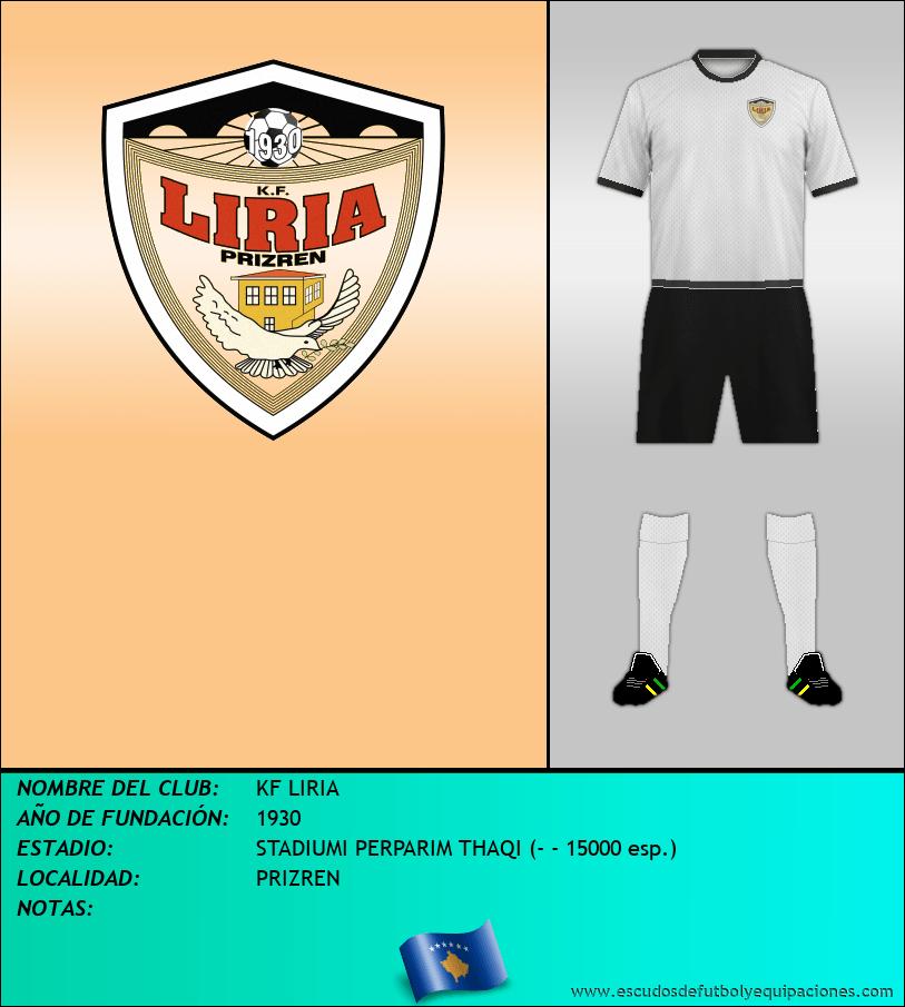Escudo de KF LIRIA