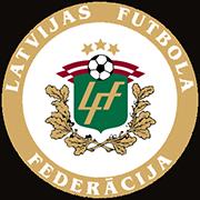 Escudo de SELEÇÃO LETÔNIA DE FUTEBOL