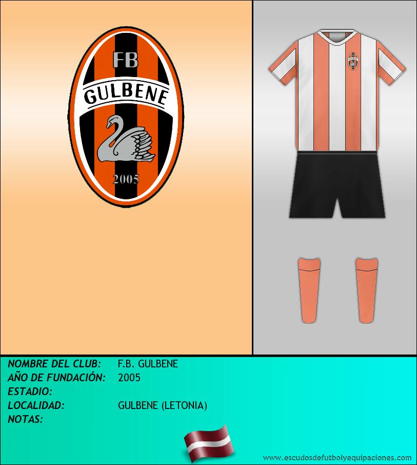 Escudo de F.B. GULBENE