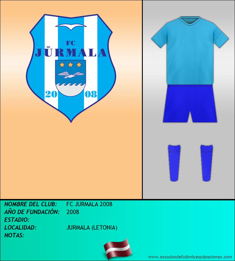 Escudo de FC JURMALA 2008