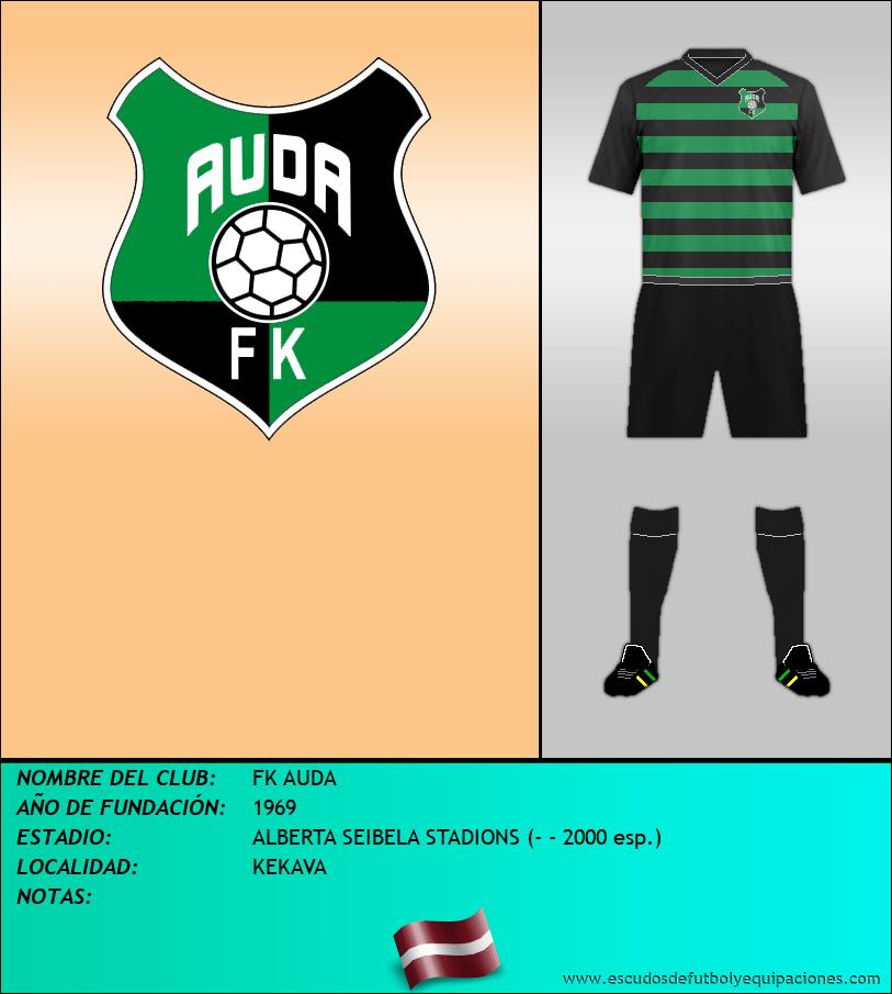 Escudo de FK AUDA