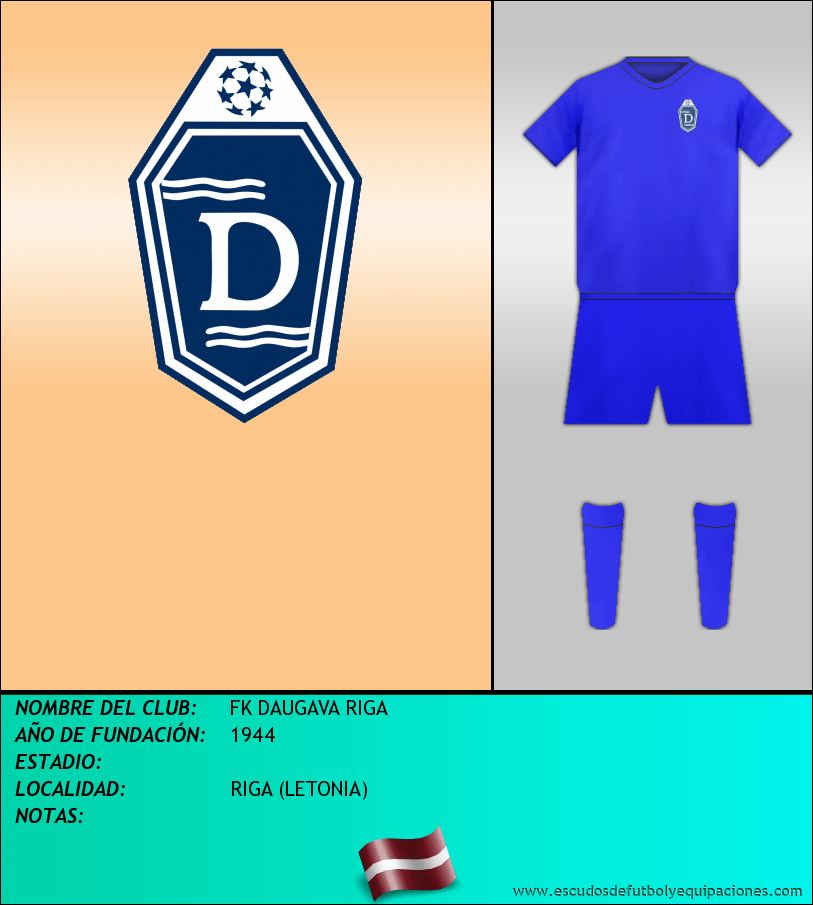 Escudo de FK DAUGAVA RIGA