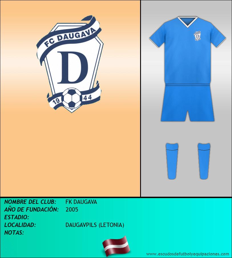 Escudo de FK DAUGAVA