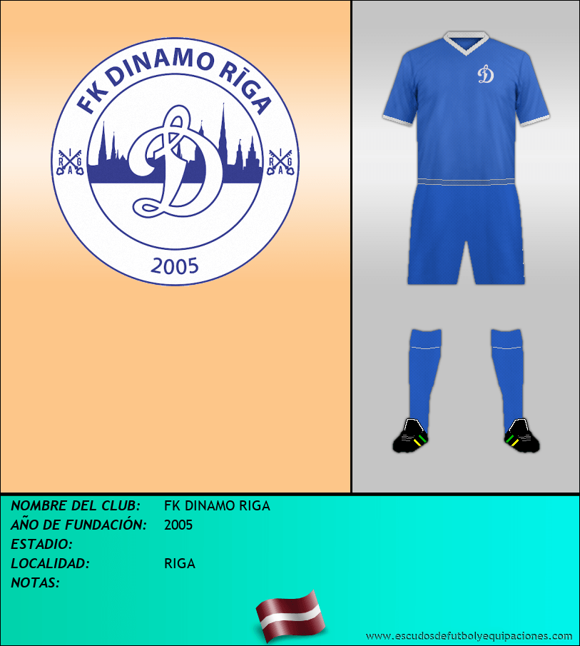Escudo de FK DINAMO RIGA