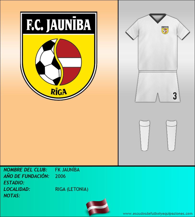 Escudo de FK JAUNÍBA