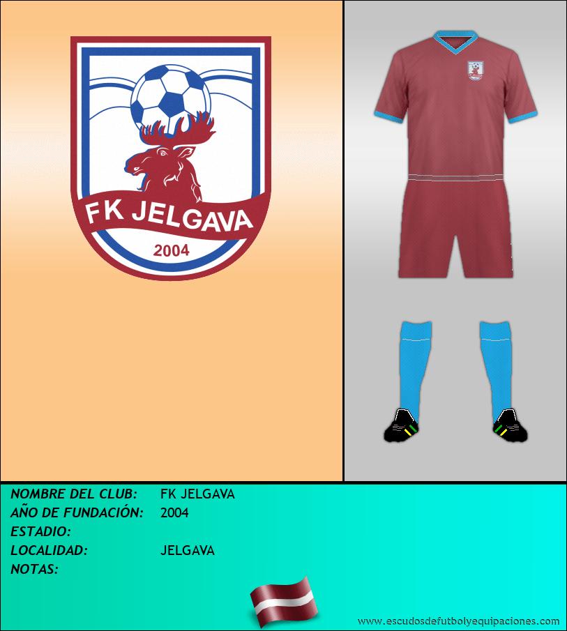 Escudo de FK JELGAVA