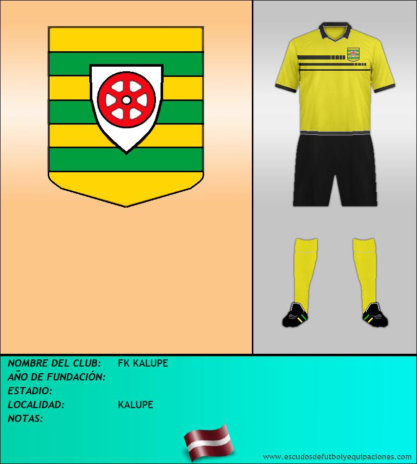 Escudo de FK KALUPE