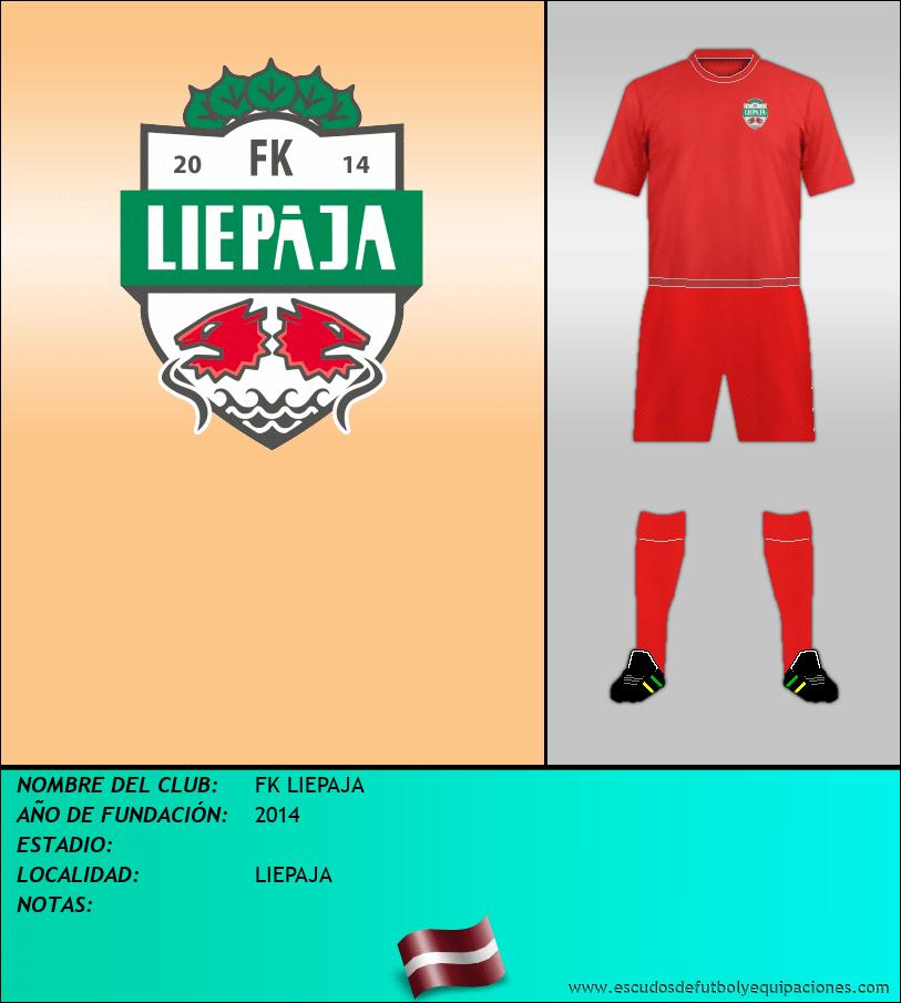 Escudo de FK LIEPAJA