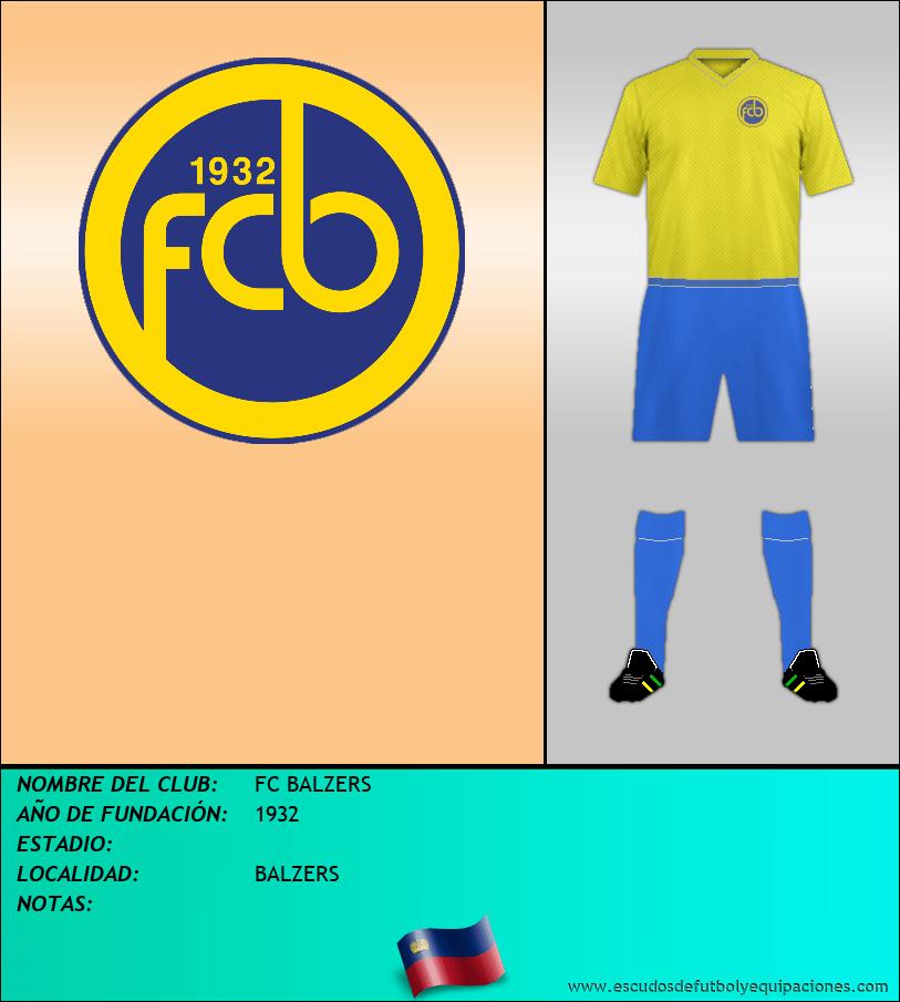 Escudo de FC BALZERS
