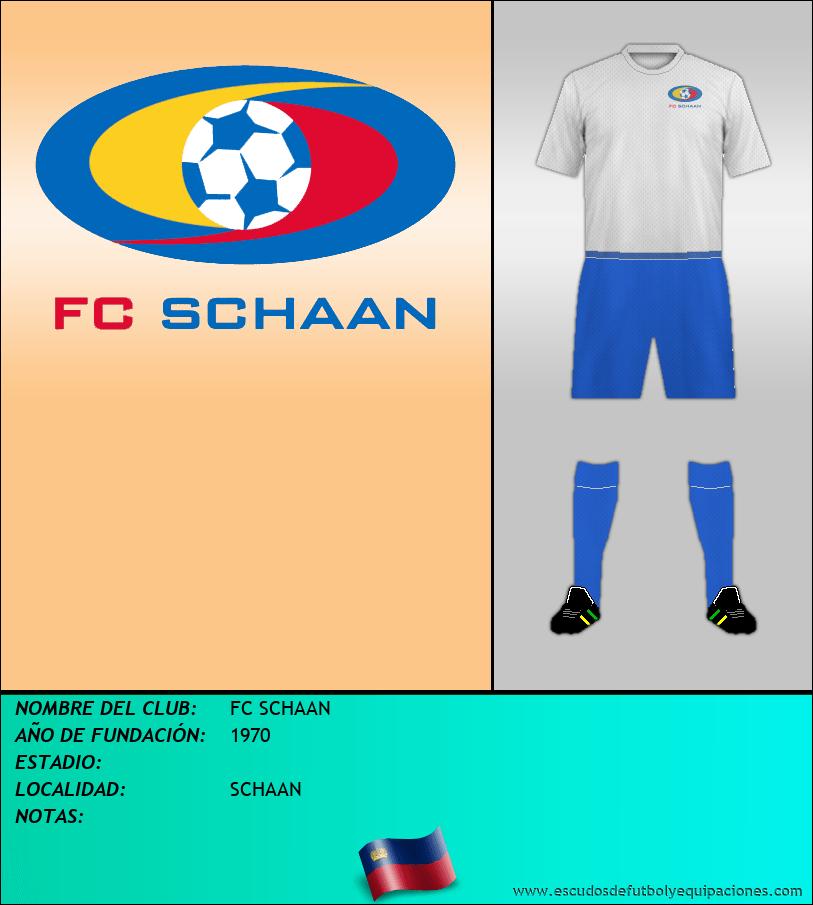 Escudo de FC SCHAAN