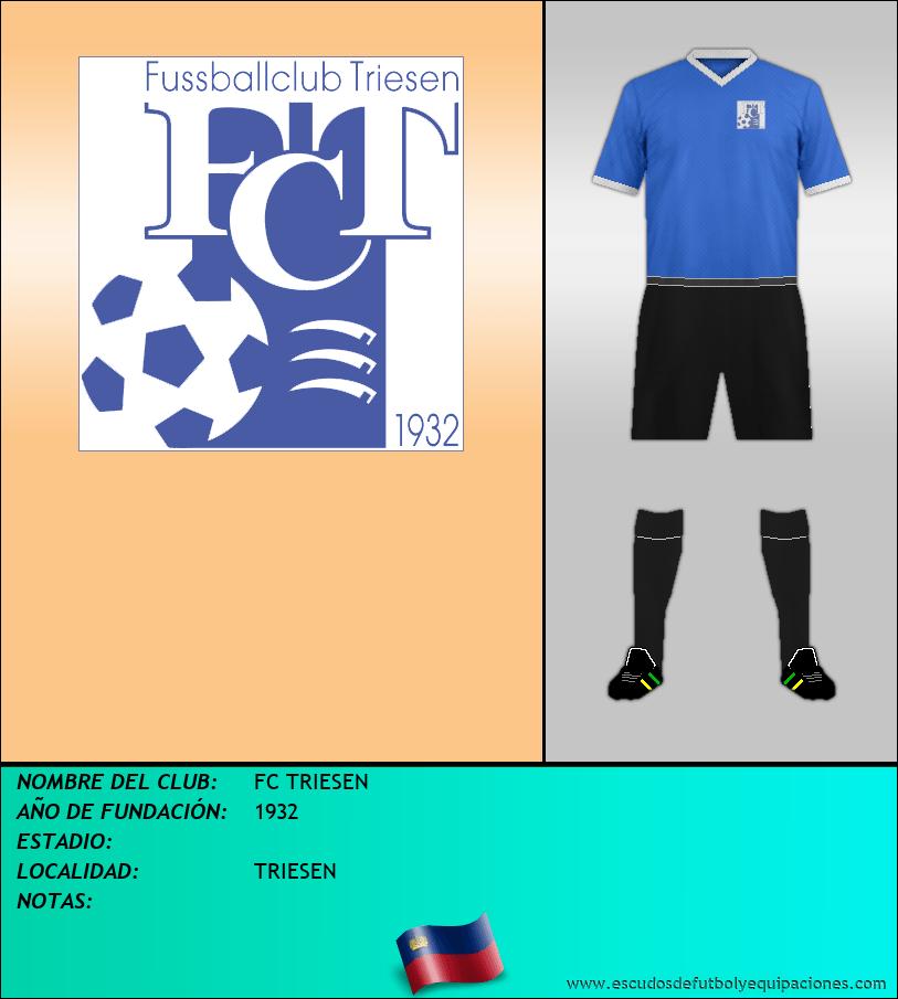 Escudo de FC TRIESEN
