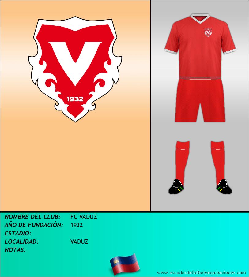 Escudo de FC VADUZ