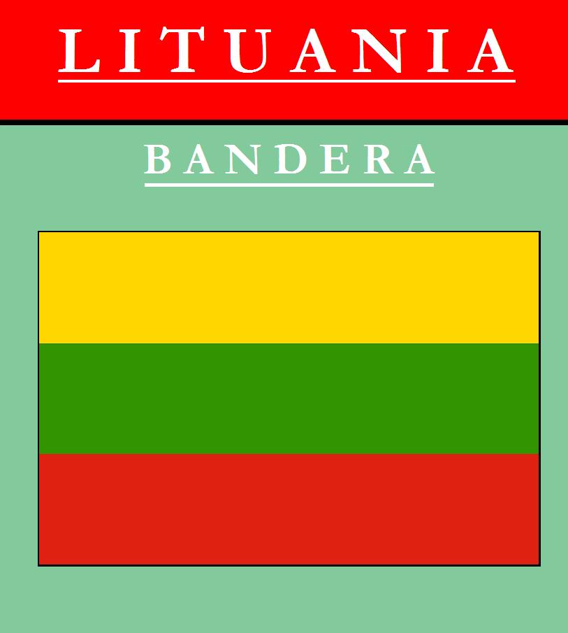 Escudo de BANDERA DE LITUANIA