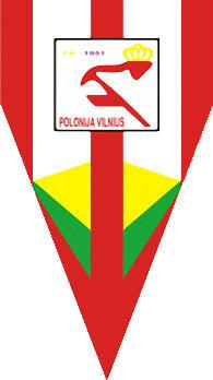 Escudo de FK POLONIA VILNIUS (LITUANIA)